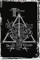 Harry Potter Deathly Hallows Graphic Poster 61x91,5cm
