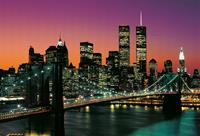 Fotobehang New York City - 366 x 254 cm - Multi