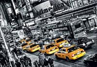 Cabs Queue Fotobehang 366x254cm