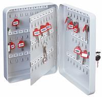 Rottnertresor TS93 sleutelkast voor 93 sleutels - Wit