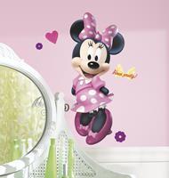 muursticker Minnie Mouse - 25x45 cm
