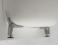 Bette verstelbare poten per paar staal