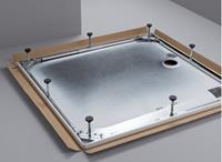 Bette douchebakdrager/-poten/-frame frame staal (lxbxh) 1000x900x65 - 120mm verzwaarde uitvoering
