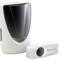 Byron BY206FE Draadloze deurbel set