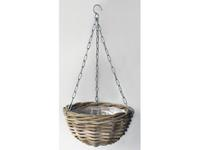 Vanderleeden Hanging Basket Rotan Antique Grey D40CM