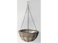 Vanderleeden Hanging Basket Rotan Antique Grey D30CM