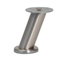 Meubelpootjes RVS ronde meubelpoot 12 cm