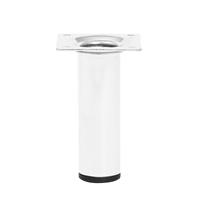 Meubelpootjes Witte ronde meubelpoot hoogte 10 cm