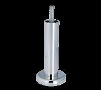 Meubelpootjes Chromen ronde meubelpoot 10 cm met kleine flens (M8)