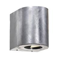 Converteerbare LED outdoor wandlamp Canto, staal