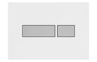 Plieger Flair bedieningspaneel wit/mat chroom
