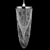 Vidaxl Kroonluchter met kristallen 22 x 58 cm