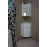 Wiesbaden Lena Hoek fonteinmeubel met spiegelkast 50 x 85 x 25 cm wit