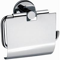 Douche Concurrent Sanix Round toiletrolhouder met klep chroom