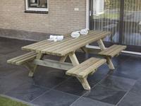 Van Talen Open instap - Picknicktafel