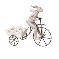 Clayre & Eef Decoratie konijn 26x11x24 cm