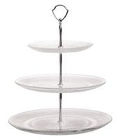 Cosy & Trendy Etagere Retro Glas Rond 3 Laags