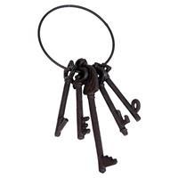 Clayre & Eef Decoratie sleutel 11x5x25 cm