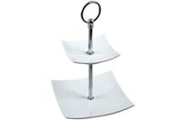 Cosy & Trendy Etagere Wit Vierkant 2 Laags