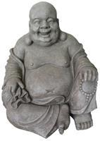 Farmwoodanimals Happy Boeddha tuinbeeld - F