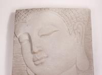 Stone-lite Wandboeddha 51x51 cm