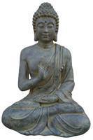Farmwoodanimals Boeddha Gerechtigheid Xl 63X7X73 Cm Donker Grijs Fiberclay