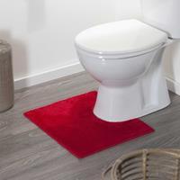 Sealskin toiletmat Doux 45 x 50 cm rood 294428459