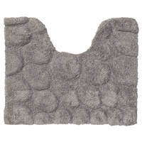 Sealskin pebbles toiletmat 60x50cm cotton grijs 294416414