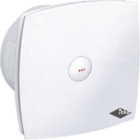 Itho Daalderop BTV-400T ventilator met timer, wit
