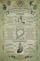 Harry Potter - Hogwarts School List