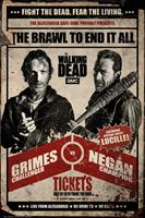 The Walking Dead Fight Poster 61x91,5cm
