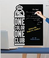 Real Madrid krijtbord muursticker One Color 50 x 70 cm