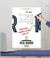 Real Madrid whiteboard muursticker Logo 50 x 70 cm