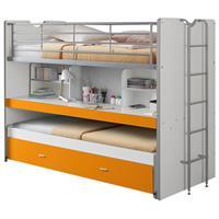 hoogslaper Bonny - oranje - 221,5x101,5x161 cm