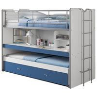 hoogslaper Bonny - blauw - 221,5x101,5x161 cm