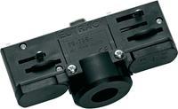 Hanglampen adapter zwart voor 3-fasen rail