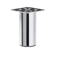 Meubelpootjes Chromen ronde meubelpoot 10 cm