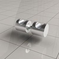 Wiesbaden losse deurknop type 4, chroom