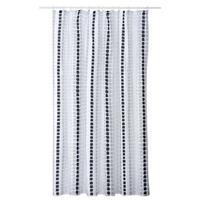 Leen Bakker Douchegordijn  Tesselo Polyester 180x200 cm Grijs