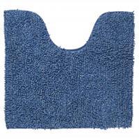 Sealskin Misto toiletmat chenille katoen 60x55 cm blauw