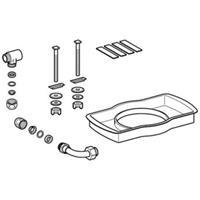 Geberit AquaClean 4000 onderdelen douche wc-zitting wateraansluitset