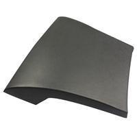 Saniclass Deluxe badkussen 37x34cm groot model zwart