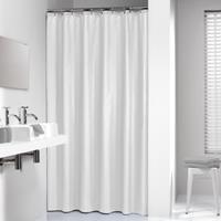 douchegordijn Madeira 100% polyester wit 240x200 cm