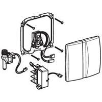 Geberit Basic urinoir bedieningspaneel infrarood 230 V, mat chroom