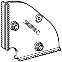 Geberit Gis onderdelen inbouwelement transportbeveiligingshoek