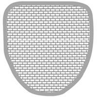 Duravit Grid Urinoir 50421000