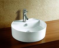 Badstuber Cera K304 opbouw waskom met kraangat 48x43cm