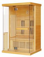 Badstuber Infrarood Sauna Luna 125x103 cm 1900W 2 Persoons