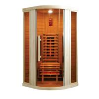 Badstuber Infrarood Sauna Relax 1 100x100 cm 1600W 1 Persoons