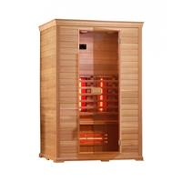 Badstuber Infrarood Sauna Classico 1 130x100 cm 2100W 2 Persoons